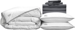 Luxe Soft & Smooth White Goose Down Bedding