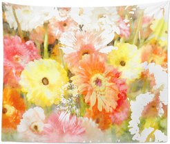 Orange Yellow Red Wall Tapestry by The Oliver Gal Artist Co.