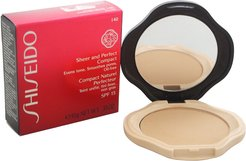 Shiseido 0.35oz #I40 Natural Fair Ivory Sheer & Perfect Compact Foundation SPF 15