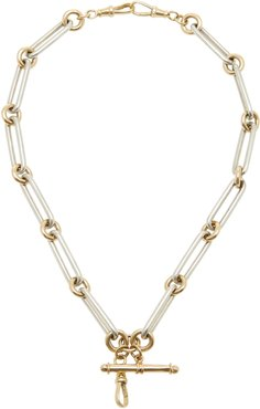 Kristopher 14K Gold And Sterling Silver Necklace