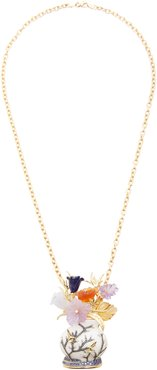 One of a Kind 18K Gold And Multi-Stone Necklace
