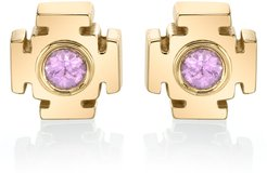 Gateway 18K Gold Sapphire Earrings