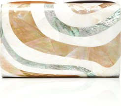 Mother Of Pearl Seawave Clutch