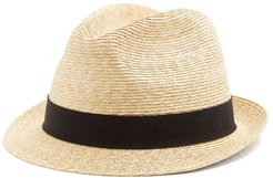 Straw Hat - Mens - Brown