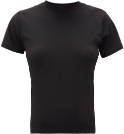 The Crew Cotton Jersey T Shirt - Womens - Black