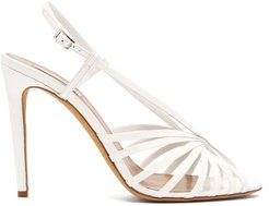 Jazz Patent-leather Sandals - Womens - White