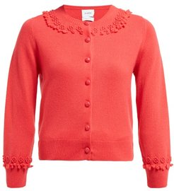 Timeless Romantic Cashmere Cardigan - Womens - Pink