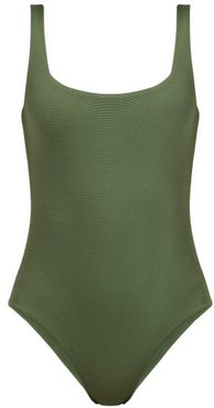 The Poppy Swimsuit - Womens - Khaki