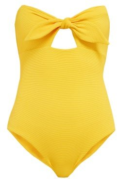 The Alice Swimsuit - Womens - Dark Yellow