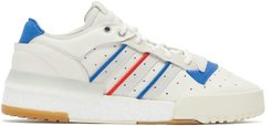 Rivalry Rm Leather Trainers - Mens - White