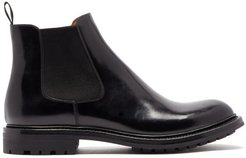 Genie Patent Leather Chelsea Boots - Womens - Black
