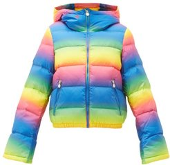 Polar Flare Down Filled Ski Jacket - Womens - Rainbow