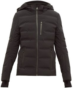 Nuke Quilted Ski Jacket - Womens - Black