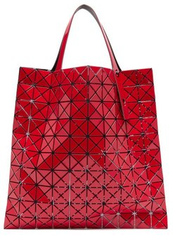 Prism Pvc Tote Bag - Womens - Red
