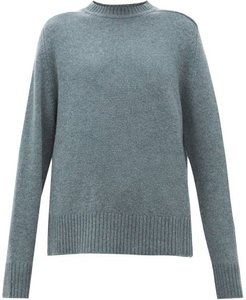 No.123 Bourgeois Stretch-cashmere Sweater - Womens - Khaki