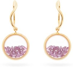 Chivor 18kt Gold & Ruby Earrings - Womens - Yellow Gold