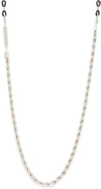 Hey Shorty Gold Plated Glasses Chain - Womens - Silver