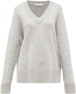 No.124 Vital Stretch-cashmere Sweater - Womens - Grey