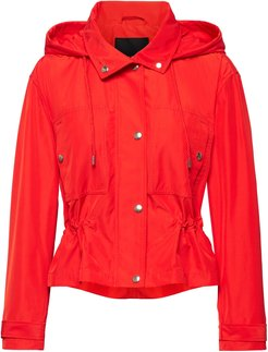 Water-Resistant Cropped Anorak
