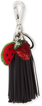 Ghianda Tassel Key Chain with Sequined Fruit