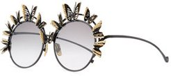 The Butterfly Round Sunglasses