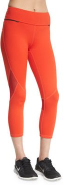Captain Crop Capri Running Tights/Leggings