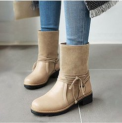 Plain Round Toe Boots cheap online shopping sites, cheap online stores,