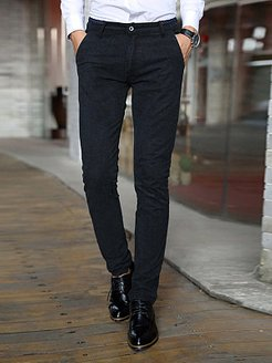 Office Pocket Slim-Leg Men's Casual Pants clothes shopping near me, cheap online stores,