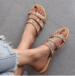 Fashion flat sandals clothes shopping near me, shop,