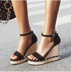 Stylish wild wedge sandals shoping, shop,