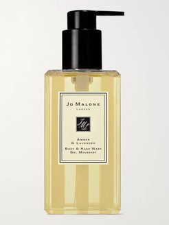 Amber & Lavender Body & Hand Wash, 250ml - Men - Colorless