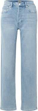 High-rise Straight-leg Jeans - Indigo