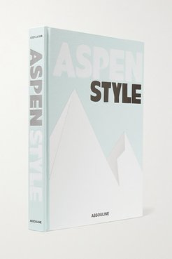 Aspen Style By Aerin Lauder Hardcover Book - Gray