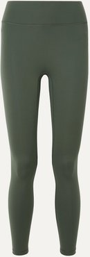 Center Stage Stretch Leggings - Green