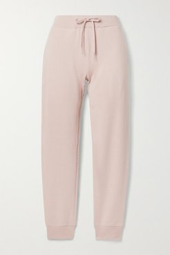 Pima Cotton-terry Track Pants - Pastel pink