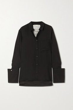 Signature Organic Silk Shirt - Black