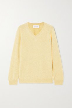 Catherine Cashmere Sweater - Yellow