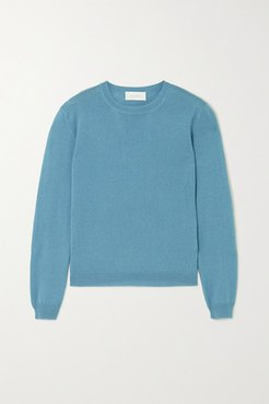Kawaï Cashmere And Silk-blend Sweater - Blue