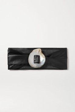 Charlotte Leather Waist Belt