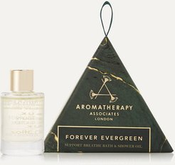 Forever Evergreen Support Breathe Bath & Shower Oil Ornament, 9ml - Colorless