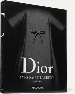 Dior By Yves Saint Laurent 1958-1960 By Laurence Benaïm Hardcover Book - Black