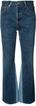 The Leandra high rise flared jeans - Blue