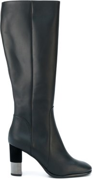 knee length boots - Black