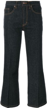 cropped jeans - Blue