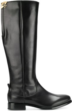 knee high boots - Black