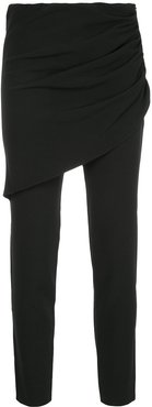 skinny tailored trousers - Black