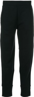 tapered casual trousers - Black