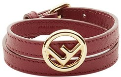 F Is Fendi bracelet - Red