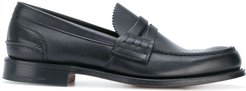 classic loafers - Black