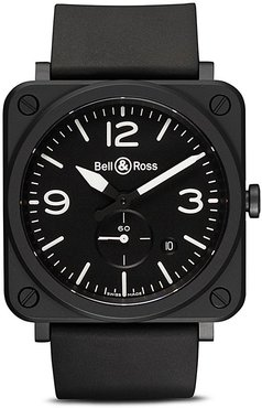 BR S Black Matte Ceramic 39mm - BLACK B BLACK